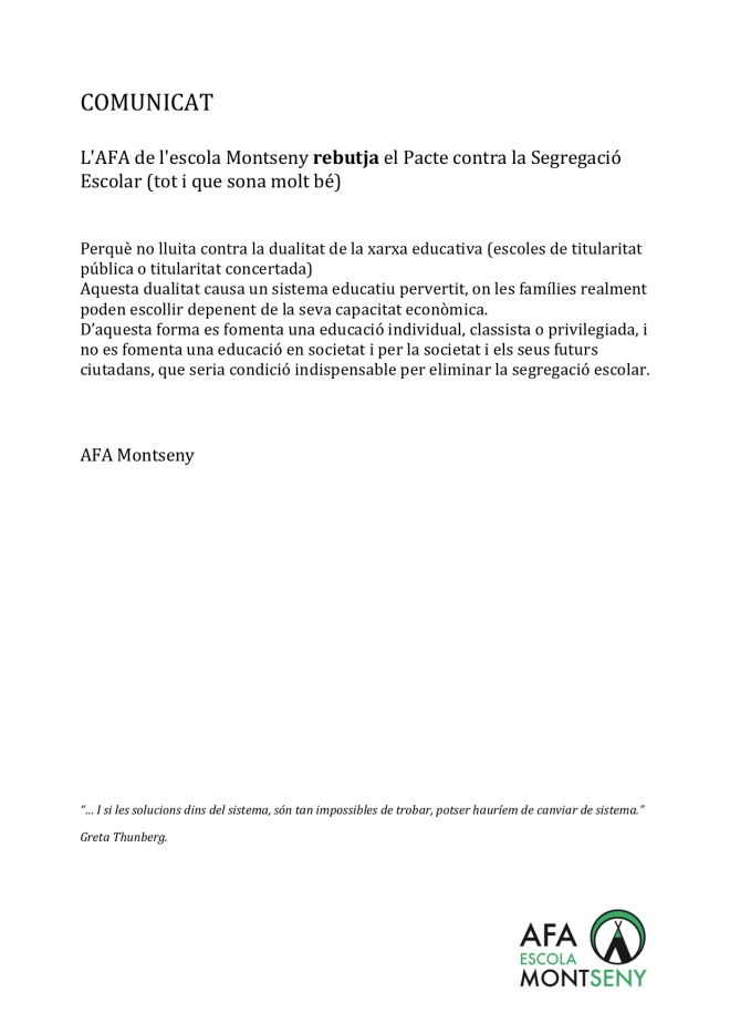 COMUNICAT AFAMontseny 20190320